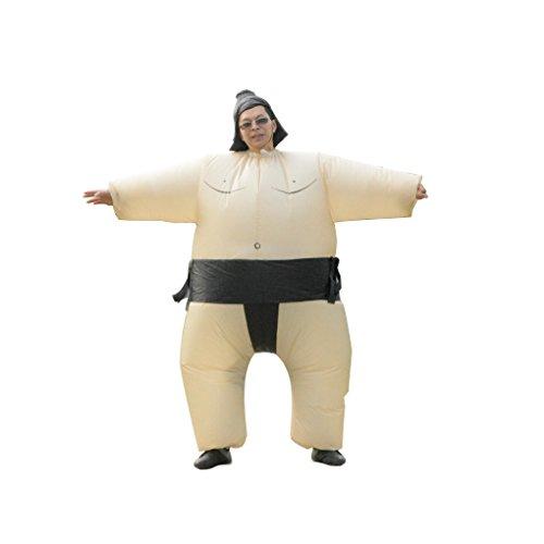 Masterein Erwachsene / Kinder Sumo Aufblasbare Kostüm Polyester Ringer Cosplay Party Kostüm