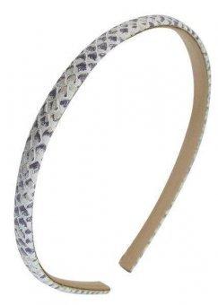 Haarreif schmal - Leder - 1201-700