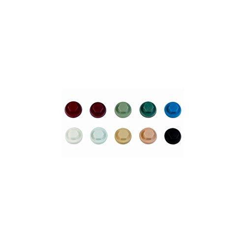 Index ATAPO08RC - Tapon nylon colores para tornillos cabeza hexagonal RAL 3003