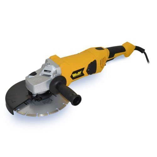wolf-9-industrial-angle-grinder-230mm-2300-watt-240v-soft-start-motor-supplied-with-diamond-tipped-c