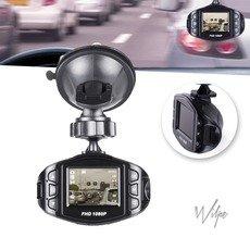 NInyas Full HD Dashcam Autokamera Video Recorder mit 120° Weitwinkelobjektiv, 1.5 Zoll LCD-Bildschirm, Bewegungserkennung, Parkmonitor, Loop-Aufnahme