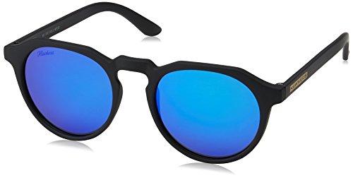 Hawkers Carbon Black Sky Warwick, Gafas de Sol Unisex, Negro/Azul Hawkers
