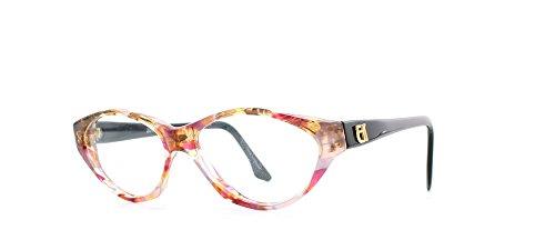 Emmanuelle Khanh Damen Brillengestell Pink Pink Clear Black