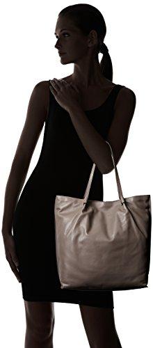 Ecco Damen Sculptured Shopper, 33x34x9 cm Grau (90186)