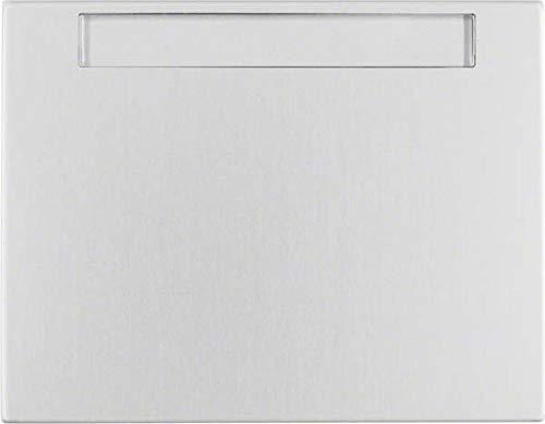 Hager 14267003 Interruptor de luz Aluminio - Interruptores de luz (Aluminio, Aluminio,...