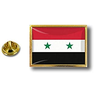 Akacha pins pin's Flag National Badge Metal Lapel Backpack hat Button Vest Syria
