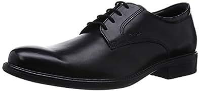Geox U Carnaby D, Chaussures de ville homme, Noir (Black), 39
