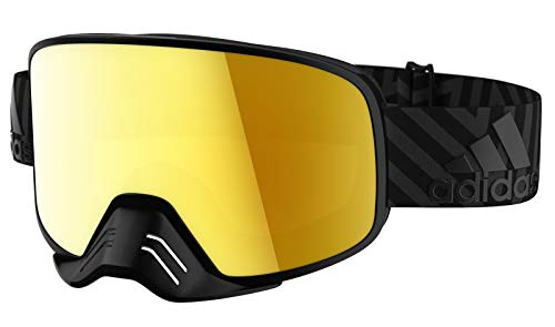 ADIDAS Brille Skibrille Googles ad84 BACKLAND Dirt Black matt 9600