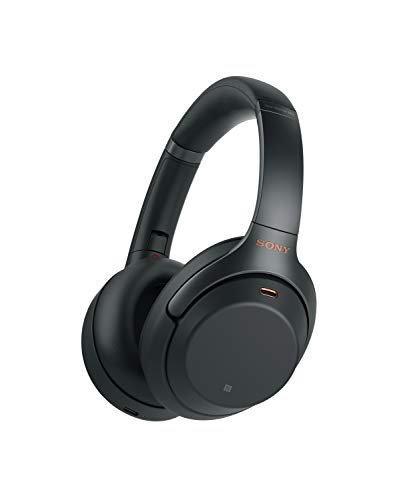 Sony WH-1000XM3 Bluetooth Noise Cancelling Kopfhörer (30h Akku, Touch Sensor, Headphones Connect App, Schnellladefunktion, Amazon Alexa) schwarz