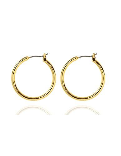 anne-klein-gold-tone-medium-hoop-earring