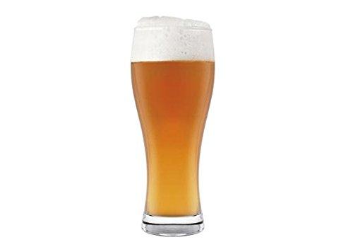 H&H 68/4261 Weizen, Confezione 6 Bicchieri Birra, Vetro, 33 Cl, 6 Unità