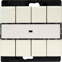 Berker Funk-Wandsender 4fach 27240069 flach ARSYS;FUNKBUS Bussystem-Hand-/Wandsender 4011334256304