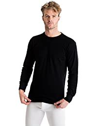 OCTAVE® Mens Thermal Underwear Long Sleeve Top (British Made Viscose Extra Warm)
