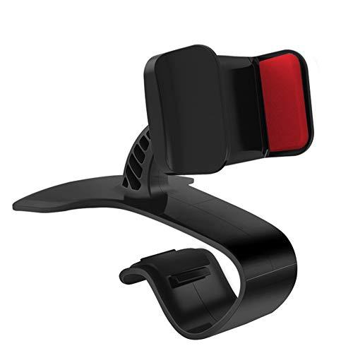 6SlonHy Universal HUD Anti-Rutsch-Stabil Auto Fahrzeug Armaturenbretthalterung Handyhalter Ständer Halterung rot Regulär -