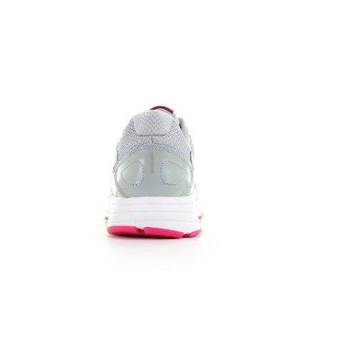 Nike 580431 026 Wmns Dart 10 Eu Damen Sportschuhe - Running Gris (Wlf Grey / Pnk Fl-Pr Pltnm-White)