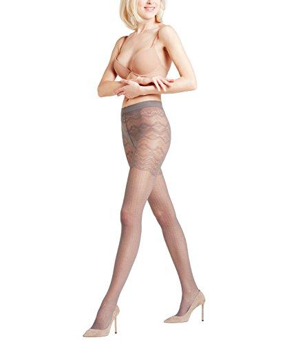FALKE Damen Mash-Up Strumpfhose, Platinum, S Preisvergleich