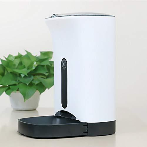 SUNQQA Gatto E Cane alimentatore automatico WIFI Fluid Telefono Rimosso Intelligent Sensor controllo Pet Feeder infrarossi 4.3L di alta capacità che perde dispositivo