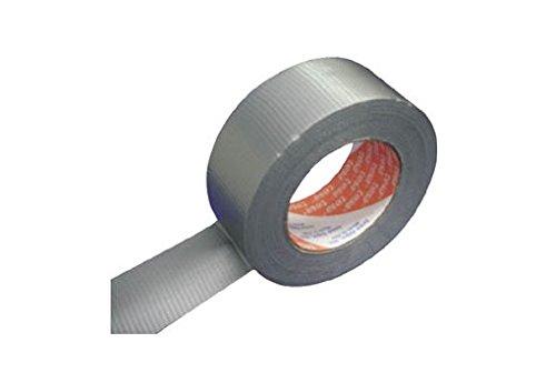 Tesa 04613-00037-00  Professional Standard Duct Tape mattsilber 50 m : 48 mm