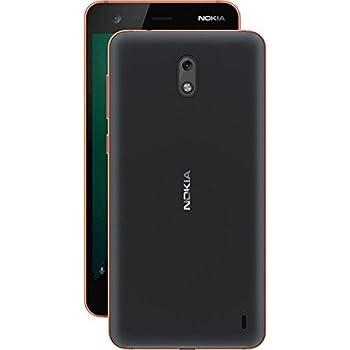 Nokia 2 (5 inch) Mobile Phone (Black/Copper)
