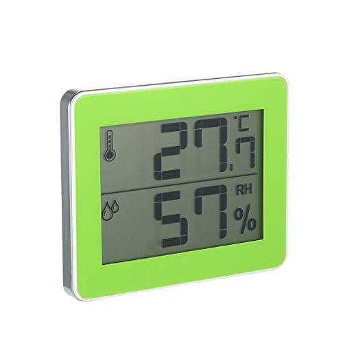 Fangfeen Indoor-LCD-Digital-Thermometer-Hygrometer Mini Temperatur- und Feuchtigkeitsmessgerät Innen Außen Wand befestigte