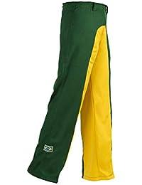 Unisex Verde amarillo Brasil Capoeira Artes Marciales Abada Elástico Pantalones 5 Tallas ...