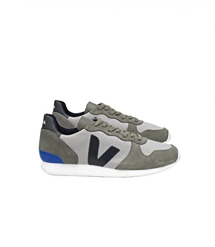 VEJA - Baskets basses - Homme - Sneakers Holiday Suede Mesh Gris pour homme SILVER BLACK