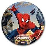 tuttofesta Piatti di Spiderman,Piatti Spiderman,24 Piatti Spiderman,Festa Spiderman,Piatti in Carta Spiderman,Piatti in Carta Spiderman,Piatti Festa Spiderman