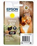 Epson Original 378 Tinte Eichhörnchen (XP-8500 XP-8600 XP-8605 XP-15000, Amazon Dash Replenishment-fähig) gelb