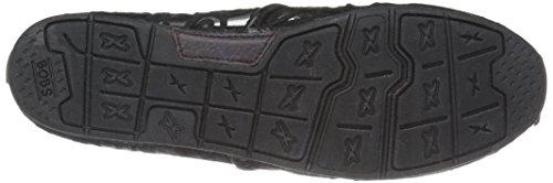 Flotteurs De Skechers Chill Luxe Chaussure Black/Black Crochet