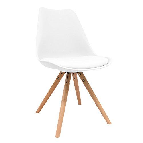 Silla Nórdica - Silla scandi Blanca - silla nordic escandinava inspirada en silla eames dsw - Topic - (Elige tu color)
