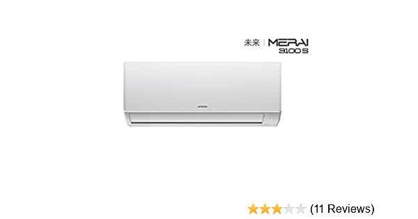 Hitachi 1 5 Ton 3 Star Inverter Split AC (Copper,MERAI 3100s RSD317HBEA  White)