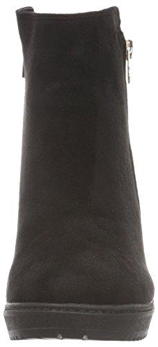 H.I.S Damen 46005 Kurzschaft Stiefel Schwarz (Black)