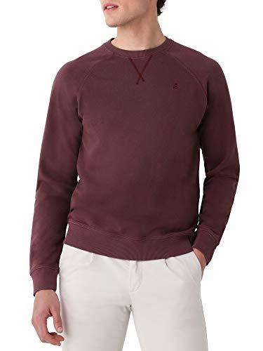 Scalpers Sudadera Garment Dye Logo Calavera - Burgundy/M