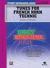 Descargar Libro Alfred Publishing 00-BIC00353A Curso Student Instrumental: Tunes para Trompa Technic Nivel III - Music Book de Unknown