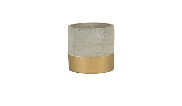 Sass /& Belle Tuva Mini pot de ciment Dor/é