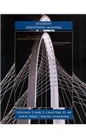Student Solutions Manual for University Physics Volumes 2 and 3 (chs. 21-44) by Young, Hugh D., Freedman, Roger A., Ford, A. Lewis (2011) Paperback