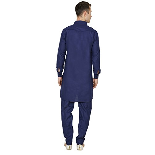 Kurta -  Giacca da abito  - Classico  - Uomo Blue