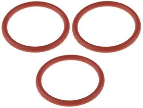 Lot de 3 anneaux en O 32 x 4 mm pour Saeco 422245945191 Unité/Groupe Café/Tasseur Piston - Diamètre Intérieur : 32 mm, épaisseur : 4 mm, diamètre extérieur : 40 mm