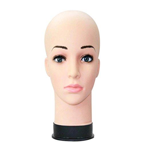 ModèLe De TêTe, Rawdah Mannequin TêTe Pratique Maquillage Perruque Chapeau  Affichage Formation ModèLe Cils Extension d96593ef4e2f