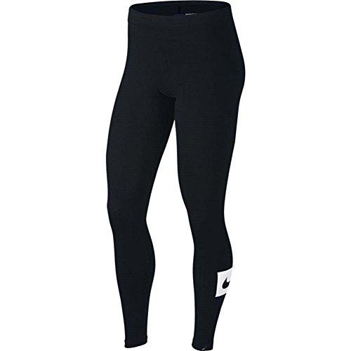 Nike 909190, guêtres Femme Noir/Blanc