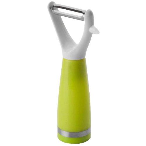 ibili 739001 Confort Éplucheur à Légumes Acier Inoxydable/Plastique Argent/Vert/Blanc 15 x 8 x 5 cm