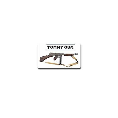 Tommy Gun Aufkleber Sticker Maschinengewehr Maschinenpistole 12x7cm#A4205