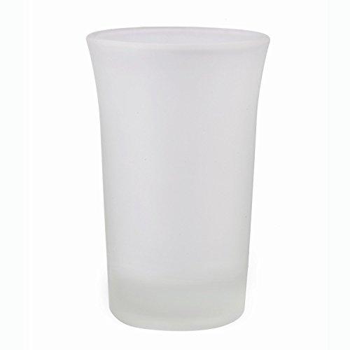 STAR-LINE® 24 Schnapsgläser Glas 4cl Set | Shotgläser Pinnchen | Frozen Matt | Spühlmaschinenfest | Gläser für Vodka Tequila & Wodka - Stamper