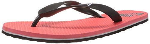 Nike Men's Aquahype Laser Crimson,White,Black  Flip Flops Thong Sandals -10 UK/India (45 EU)(11 US)  available at amazon for Rs.600