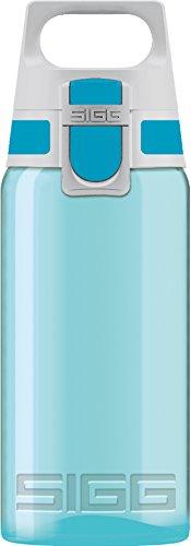 Sigg Viva ONE Aqua, Sport Trinkflasche, 0.5 L, Polypropylen, BPA Frei, Türkis, Blau, 0.5 Liter