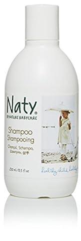 Naty by Nature Babycare - Shampoing Bébé - 250 ml - Lot de 2