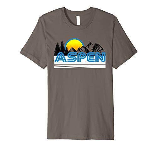 Aspen T-Shirt–Retro Style Ski T-Shirt