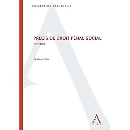 Précis de droit pénal social: 2e édition (Criminalis)