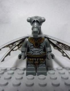 LEGO Star Wars: Geonosian Zombi Con Alas Minifigura