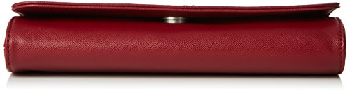 Sansibar B-657 SC Damen Clutches 25x14x6 cm (B x H x T) Rot (Red)
